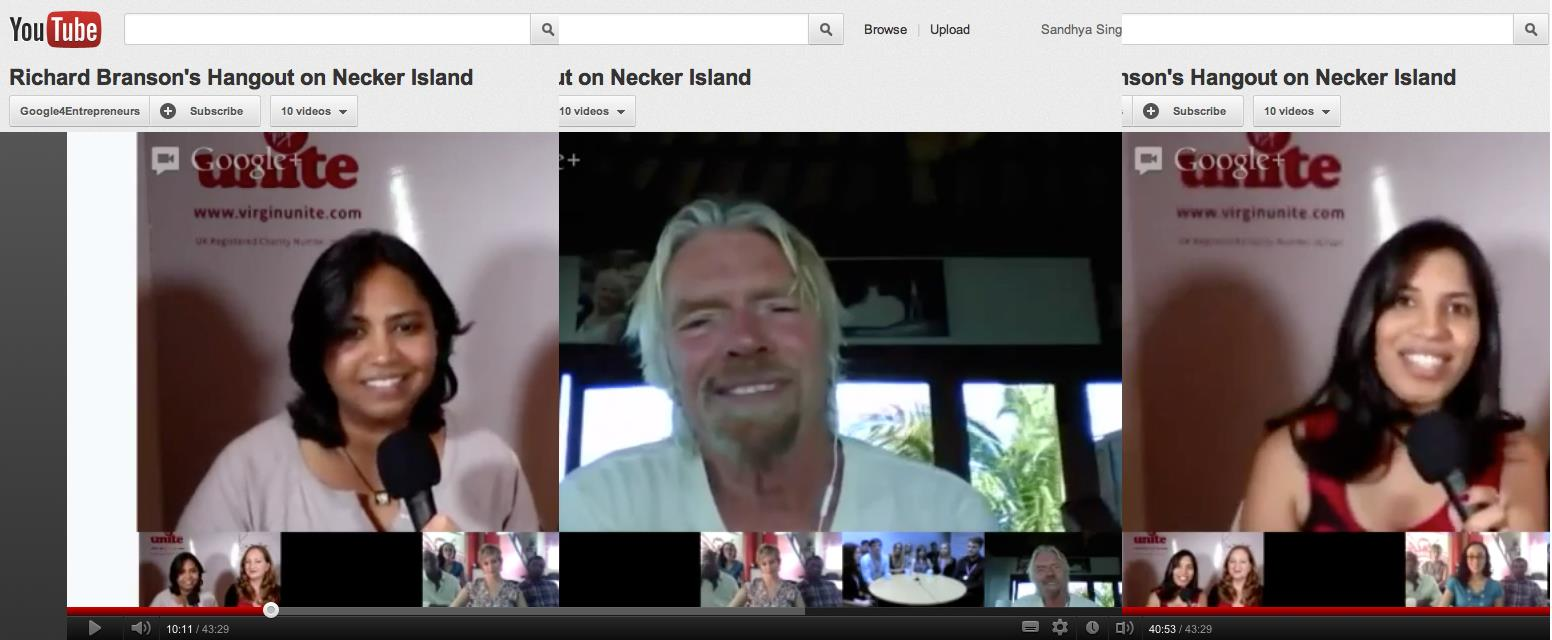 Hanging Out With Richard Branson