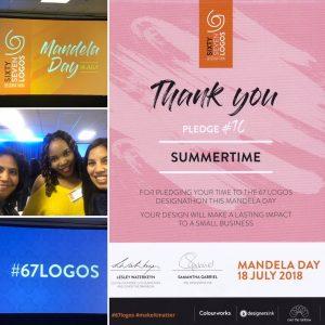 67 Logos Mandela Day Designathon Event