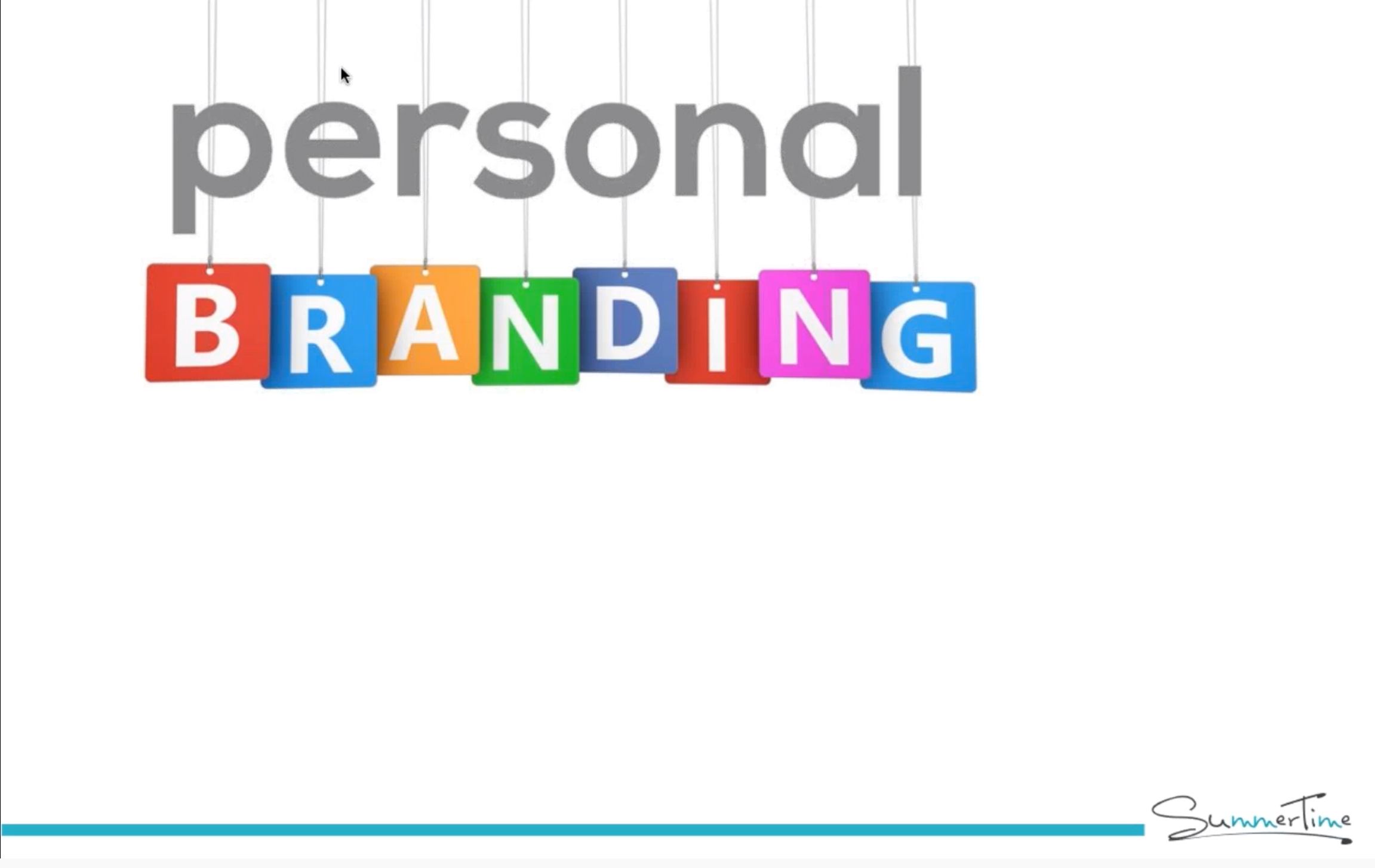 How to Build a Personal Brand – Webinar