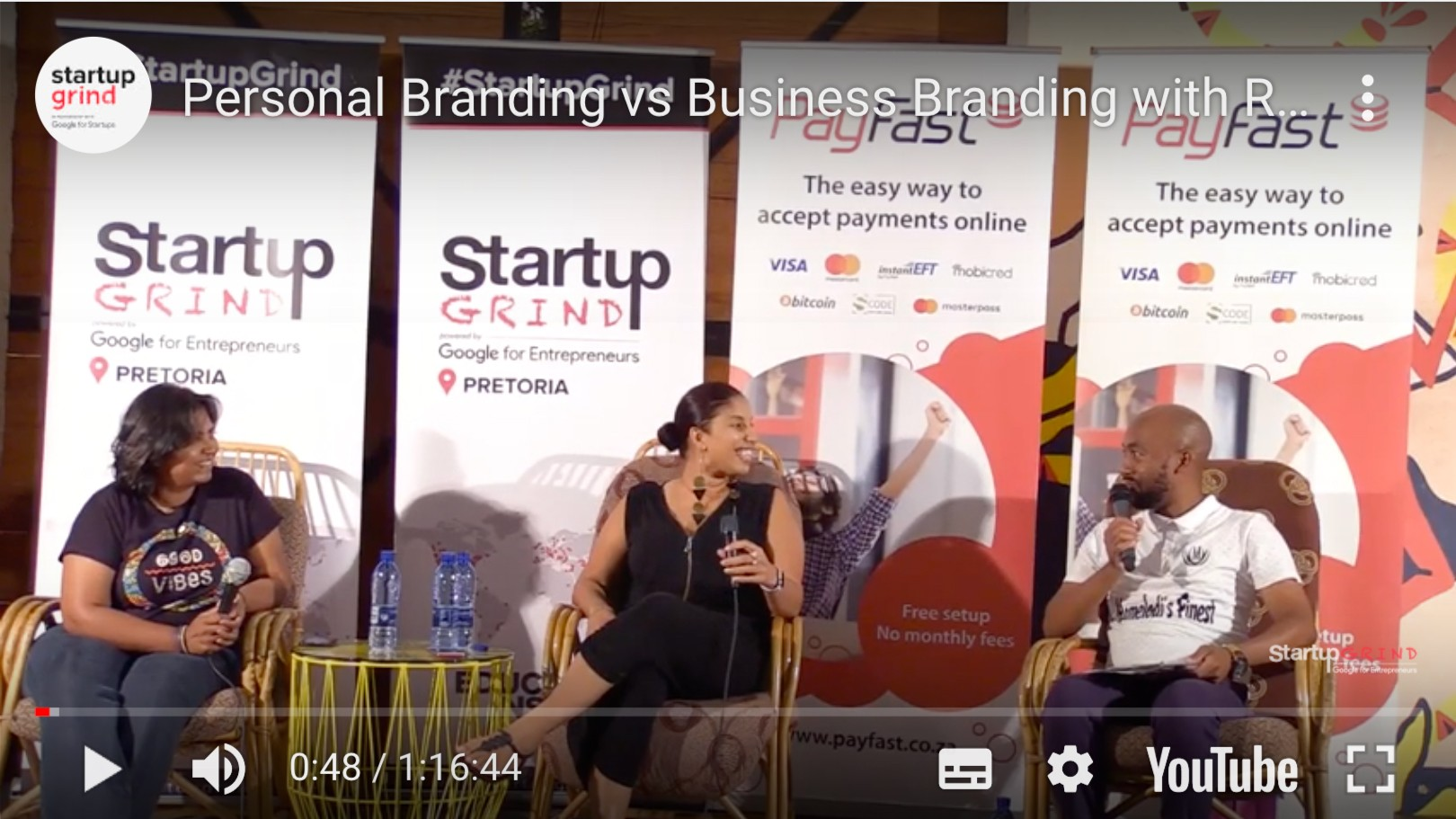 Personal Branding vs Business Branding – Interviewed by Startup Grind